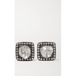 Amrapali - 18-karat Gold And Oxidized Sterling Silver Diamond Earrings found on Bargain Bro Philippines from NET-A-PORTER for $1325.00