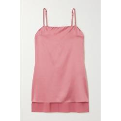 Brunello Cucinelli - Stretch-silk Satin Camisole - Blush found on Bargain Bro Philippines from NET-A-PORTER for $1395.00