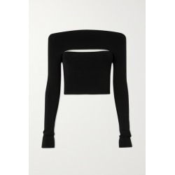 Dion Lee - Convertible Stretch-jersey Top - Black found on MODAPINS from NET-A-PORTER UK for USD $526.39