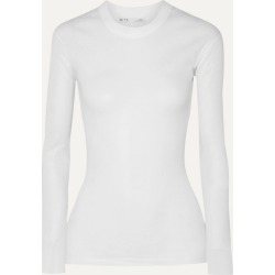 BITE Studios - Ribbed Organic Cotton-jersey Top - White found on Bargain Bro Philippines from NET-A-PORTER for $120.00