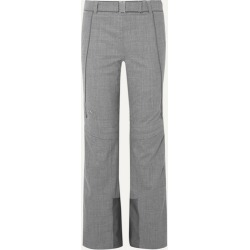 Kjus - Naira Paneled Stretch Wool-blend Ski Pants - Gray found on MODAPINS from NET-A-PORTER UK for USD $428.04