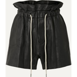 Bassike - Leather Shorts - Black found on MODAPINS from NET-A-PORTER for USD $1400.00