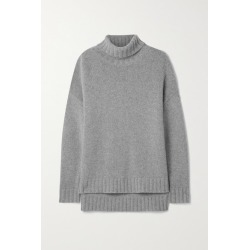 Nili Lotan - Brently Oversized Cashmere Turtleneck Sweater - Gray found on MODAPINS from NET-A-PORTER UK for USD $915.59