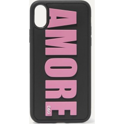 Dolce & Gabbana - Amore Embossed Pvc Iphone X Case - Pink