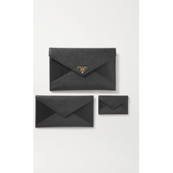 Prada - Paneled Leather Pouch - Black found on Bargain Bro UK from NET-A-PORTER UK