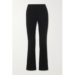 Co - Crepe Flared Pants - Black found on MODAPINS from NET-A-PORTER for USD $486.50