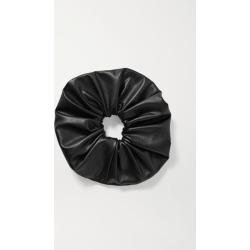 Jennifer Behr - Janelle Vegan Leather Hair Tie - Black found on Makeup Collection from NET-A-PORTER UK for GBP 83.02