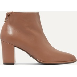 Stuart Weitzman - Gardiner Leather Ankle Boots - Brown found on Bargain Bro UK from NET-A-PORTER UK
