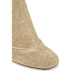 Melody metallic stretch-knit boots