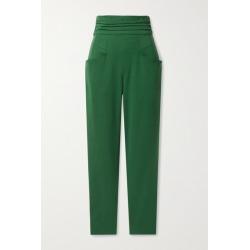 Isabel Marant - Stoda Lyocell-blend Slim-leg Pants - Green found on Bargain Bro UK from NET-A-PORTER UK
