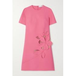 Oscar de la Renta - Cutout Stretch Wool-blend Mini Dress - Pink found on MODAPINS from NET-A-PORTER UK for USD $2890.70