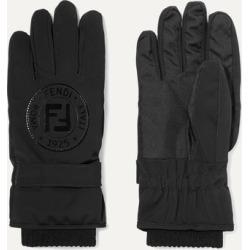 Fendi - Appliquéd Stretch-jersey Ski Gloves - Black found on Bargain Bro Philippines from NET-A-PORTER for $630.00