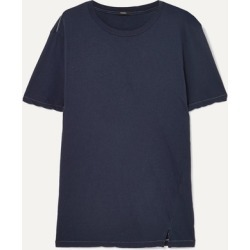 Bassike - Organic Cotton-jersey T-shirt - Navy found on MODAPINS from NET-A-PORTER for USD $95.00