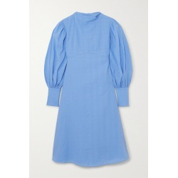 By Malene Birger - Net Sustain Fleroya Crinkled-organic Cotton Dress - Blue found on Bargain Bro India from NET-A-PORTER for $495.00