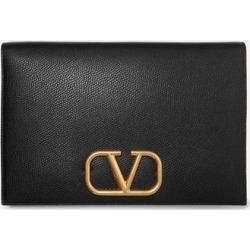 Valentino - Valentino Garavani Go Logo Textured-leather Pouch - Black found on Bargain Bro Philippines from NET-A-PORTER for $995.00