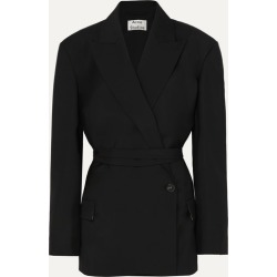 Acne Studios - Wool And Mohair-blend Blazer - Black found on Bargain Bro UK from NET-A-PORTER UK