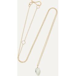 Melissa Joy Manning - + Net Sustain 14-karat Gold Pearl Necklace - one size