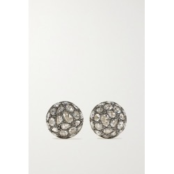Fred Leighton - Collection Sterling Silver-topped 18-karat Gold Diamond Earrings found on Bargain Bro Philippines from NET-A-PORTER for $4150.00