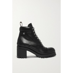 Miu Miu - Leather Ankle Boots - Black found on MODAPINS from NET-A-PORTER UK for USD $909.51