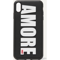 Dolce & Gabbana - Amore Embossed Pvc Iphone Xs Max Case - Black found on Bargain Bro UK from NET-A-PORTER UK