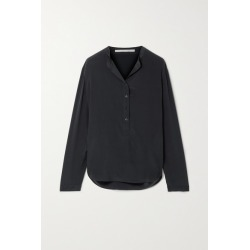 Stella McCartney - Eva Silk Crepe De Chine Blouse - Midnight blue found on Bargain Bro UK from NET-A-PORTER UK