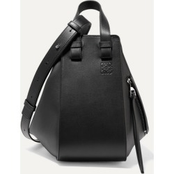 Loewe - Hammock Small Textured-leather Shoulder Bag - Black found on MODAPINS from NET-A-PORTER UK for USD $2570.68