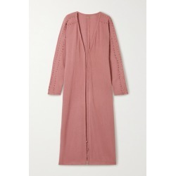 Caravana - + Net Sustain Kan Cotton-gauze Robe - Antique rose found on MODAPINS from NET-A-PORTER UK for USD $359.49