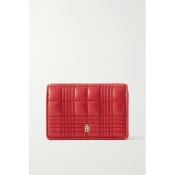Burberry - Quilted Leather Cardholder - Red found on Bargain Bro UK from NET-A-PORTER UK