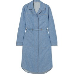 Agnona - Belted Wool And Cashmere-blend Midi Dress - Blue found on MODAPINS from NET-A-PORTER UK for USD $1962.91
