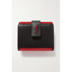 Christian Louboutin - Paloma Rubber-trimmed Textured-leather Wallet - Black found on Bargain Bro UK from NET-A-PORTER UK