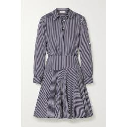 Jason Wu - Striped Poplin Mini Shirt Dress - Navy found on MODAPINS from NET-A-PORTER for USD $595.00