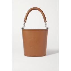 Prada - Embossed Leather Bucket Bag - Brown found on MODAPINS from NET-A-PORTER UK for USD $2264.98