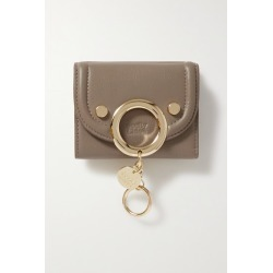 See By Chloé - Mara Mini Embellished Textured-leather Wallet - Gray found on Bargain Bro UK from NET-A-PORTER UK