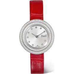 Piaget - Possession 29mm 18-karat White Gold, Alligator And Diamond Watch found on MODAPINS from NET-A-PORTER for USD $20500.00