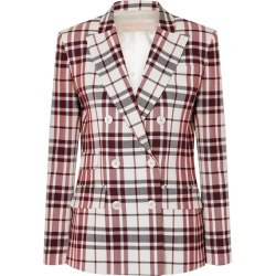 Antonio Berardi - Checked Wool And Mohair-blend Blazer - Red found on MODAPINS from NET-A-PORTER for USD $663.00