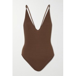 Dodo Bar Or - Liam Tencel Bodysuit - Brown found on MODAPINS from NET-A-PORTER for USD $145.00