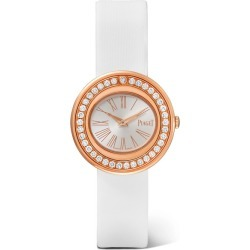 Piaget - Possession 29mm 18-karat Rose Gold, Satin And Diamond Watch found on MODAPINS from NET-A-PORTER for USD $13300.00