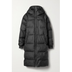 ADIDAS BY STELLA MCCARTNEY - Hooded Quilted Shell Coat - Black found on Bargain Bro from NET-A-PORTER for USD $266.00