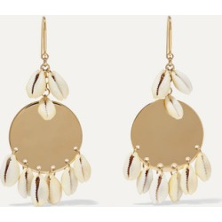 Isabel Marant - Gold-tone And Shell Earrings - one size found on Bargain Bro UK from NET-A-PORTER UK