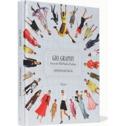 Rizzoli - Gio graphy: Fun In The Wild World Of Fashion Hardcover Book - White