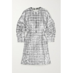 Huishan Zhang - Agatha Embellished Sequined Bouclé-tweed Mini Dress - Black found on MODAPINS from NET-A-PORTER UK for USD $869.49