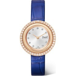 Piaget - Possession 29mm 18-karat Rose Gold, Alligator And Diamond Watch found on MODAPINS from NET-A-PORTER for USD $12600.00