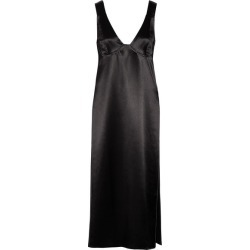 Beaufille - Tauri Satin Tunic - Black found on MODAPINS from NET-A-PORTER for USD $315.00