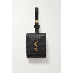 SAINT LAURENT - Textured-leather Airpods Case - Black found on Bargain Bro UK from NET-A-PORTER UK