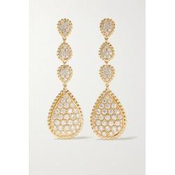 Boucheron - Serpent Bohème 18-karat Gold Diamond Earrings found on Bargain Bro Philippines from NET-A-PORTER for $39400.00