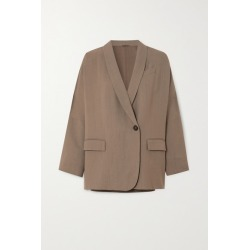Brunello Cucinelli - + Space For Giants Twill Blazer - Beige found on Bargain Bro UK from NET-A-PORTER UK