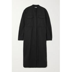 Jil Sander - Coated-linen Midi Dress - Black found on Bargain Bro UK from NET-A-PORTER UK