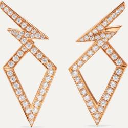 Stephen Webster - Lady Stardust 18-karat Rose Gold Diamond Earrings found on Bargain Bro Philippines from NET-A-PORTER for $4800.00
