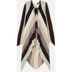 Missoni - Metallic Striped Crocheted Wool-blend Cape - Black found on Bargain Bro UK from NET-A-PORTER UK