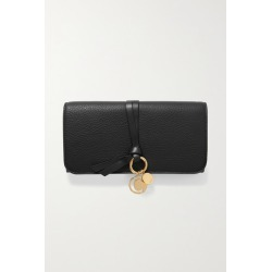 Chloé - Alphabet Textured-leather Wallet - Black found on Bargain Bro UK from NET-A-PORTER UK